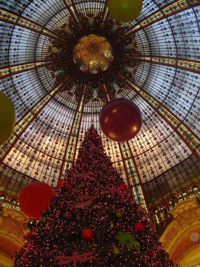Noël dans un grand magasin