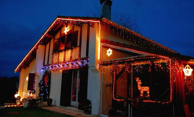 Noel Illumination Maison