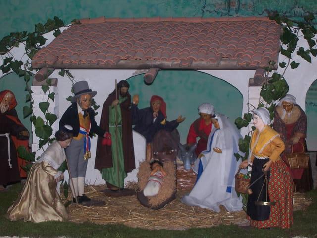 Noël la crèche