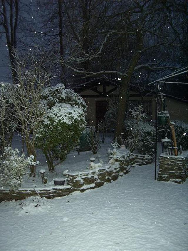 Noël sous la neige...
