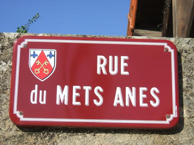 Nom de rue à l'ancienne