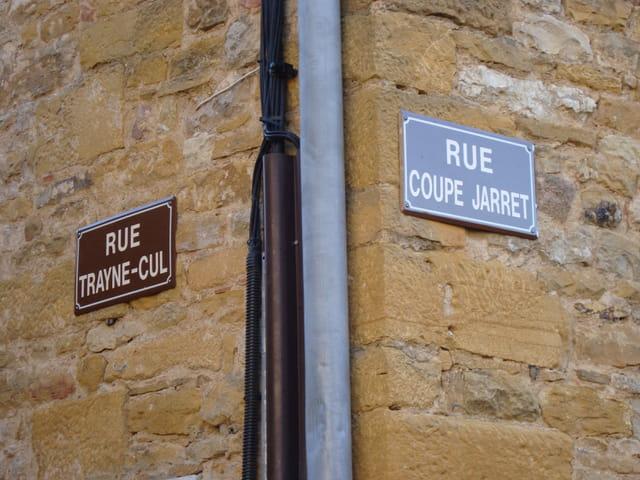 Noms de rues insolites