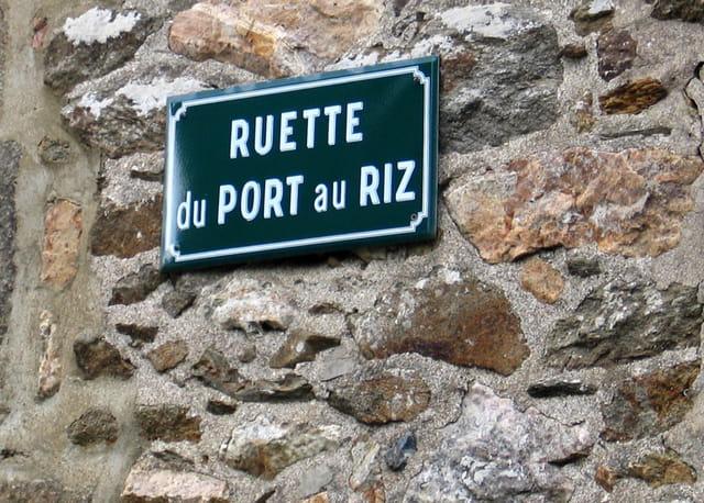 Noms des rues