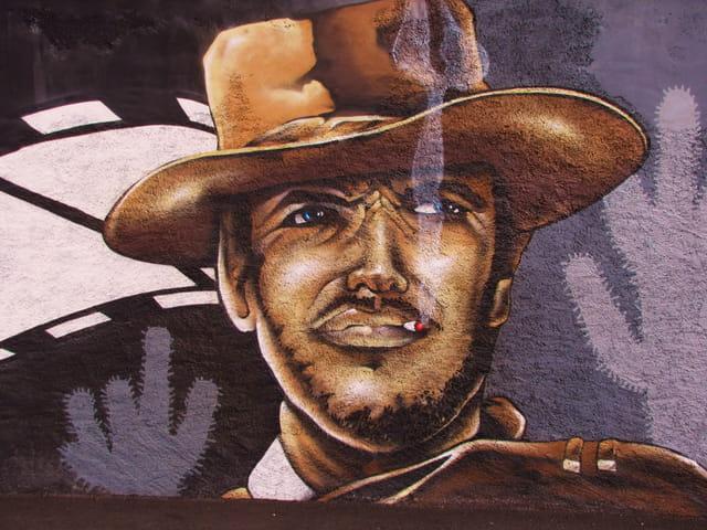 Notre Cow-Boy flingueur.Clint Eastwood.