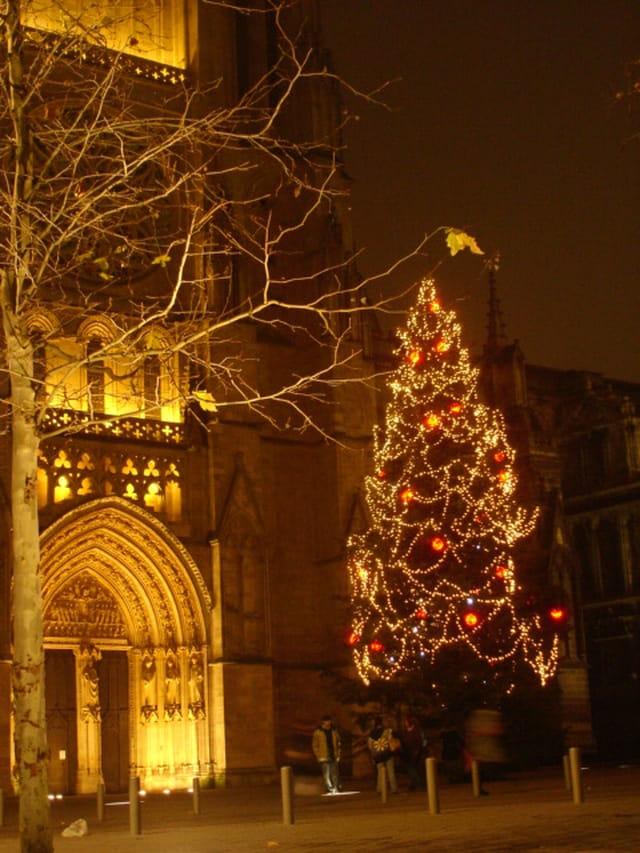 Notre Dame de Bordeaux à Noël