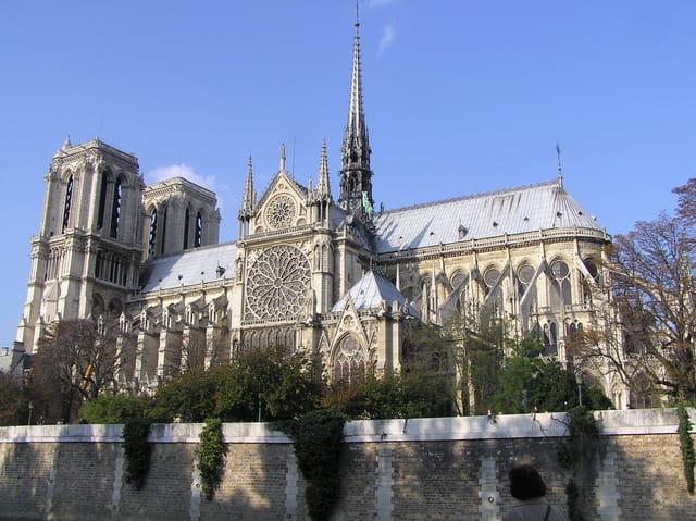 Notre-Dame de Paris, vue de la rive gauche