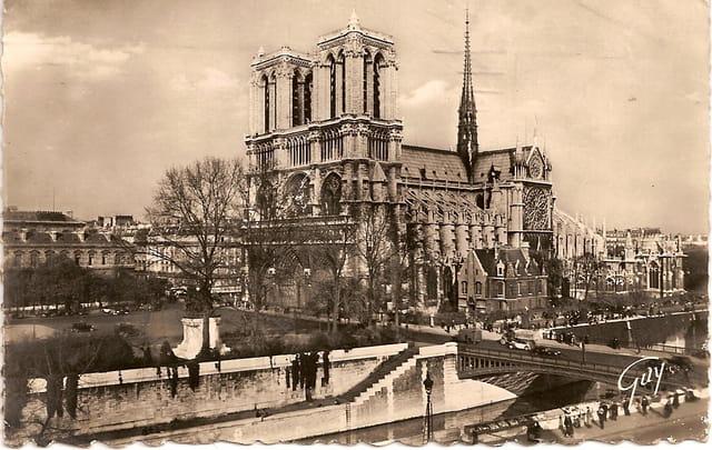 Notre-Dame et le Pont au Double
