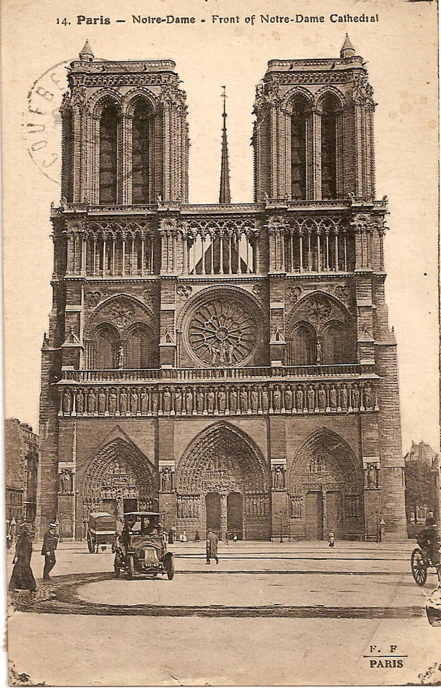 Notre-Dame, la façade