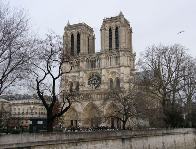 Notre-Dame vue du Pont Notre-Dame