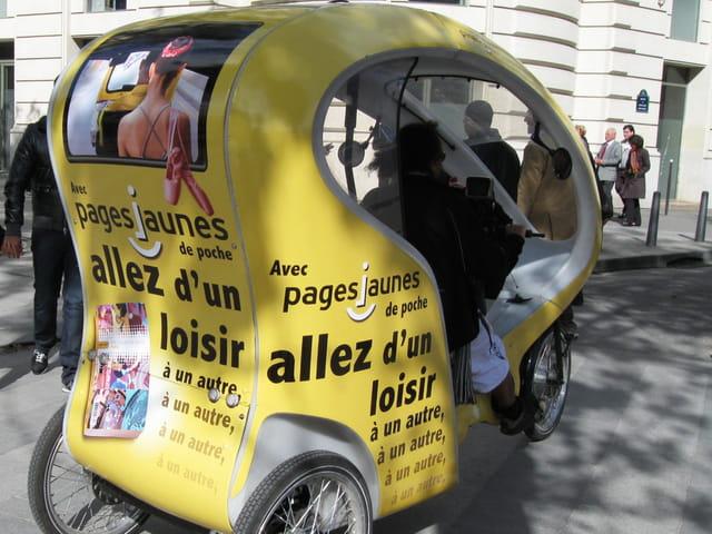 Nouveaux taxis parisiens