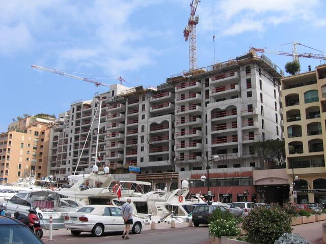 Nouvelle résidence en construction