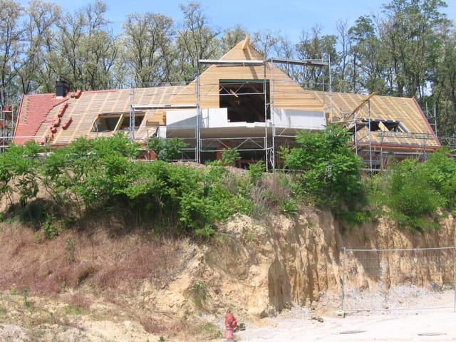 Nouvelle villa en construction