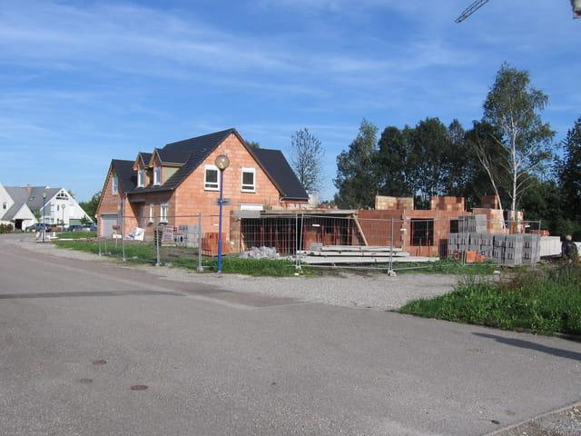 Nouvelles villas en construction