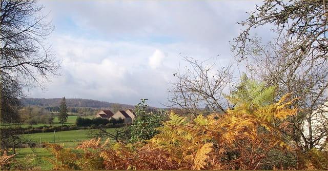 Nuages d'automne en morvan