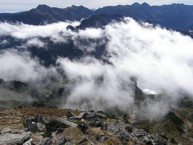 Nuages du sommet