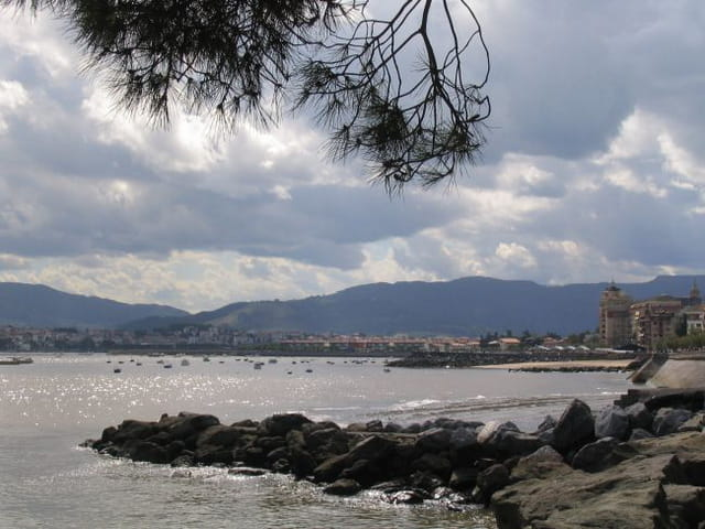 Nuages sur Fuentarrabia