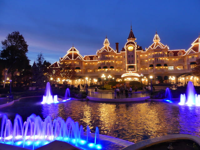 Nuit à Disneyland Paris