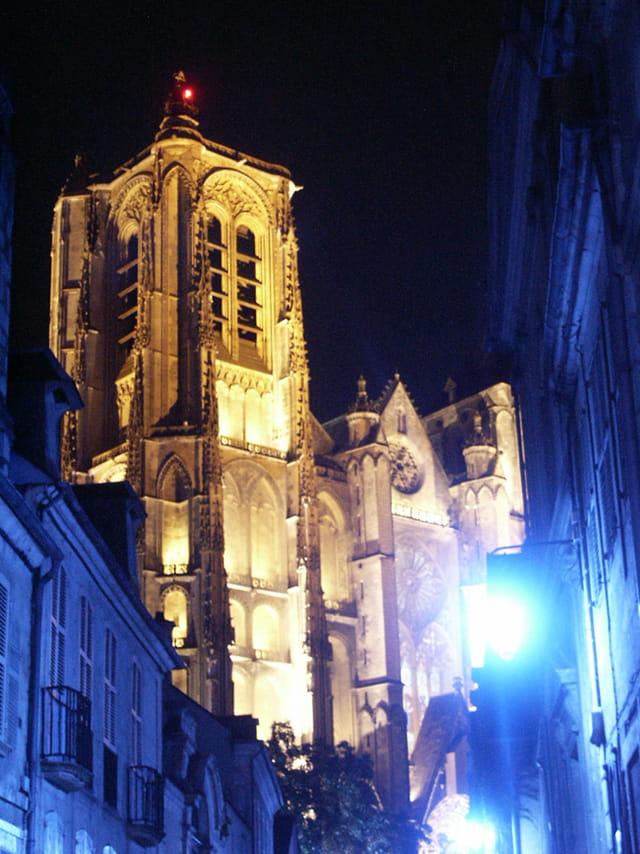 Nuit bleue à Bourges