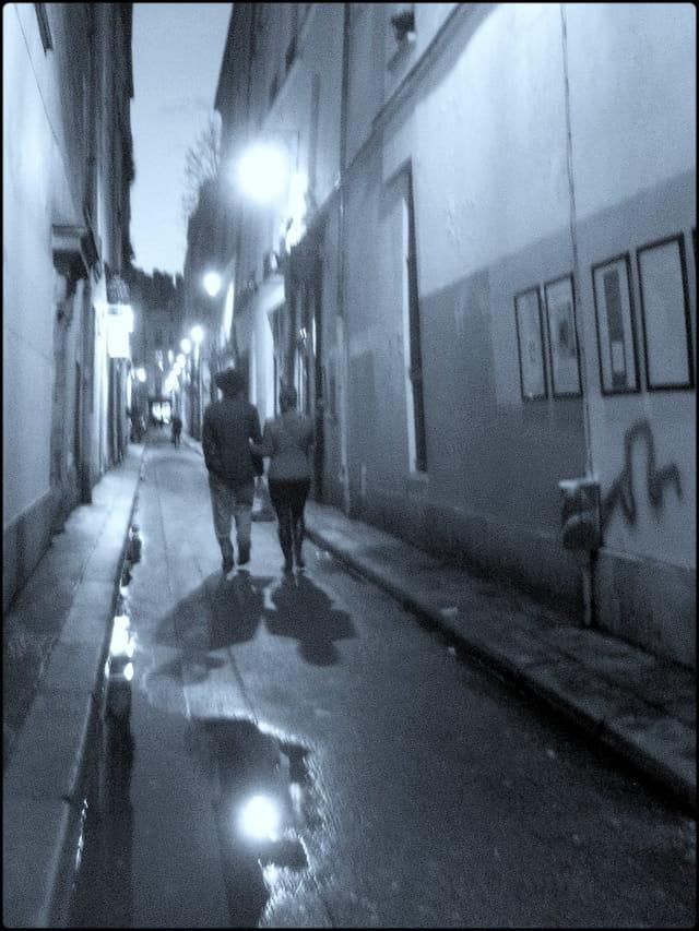 Nuit sur la rue Visconti