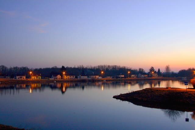 Nuit sur la Saône