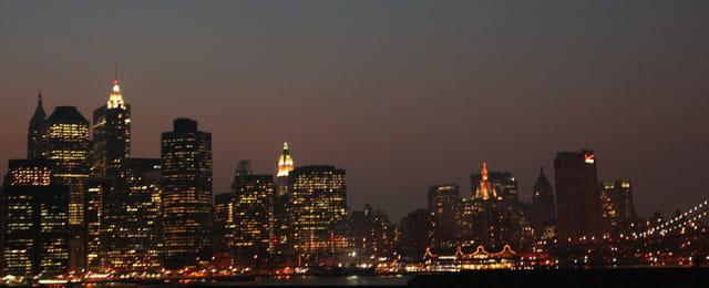 Nuit sur Manhattan