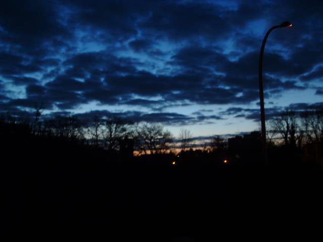 Nuit tombante