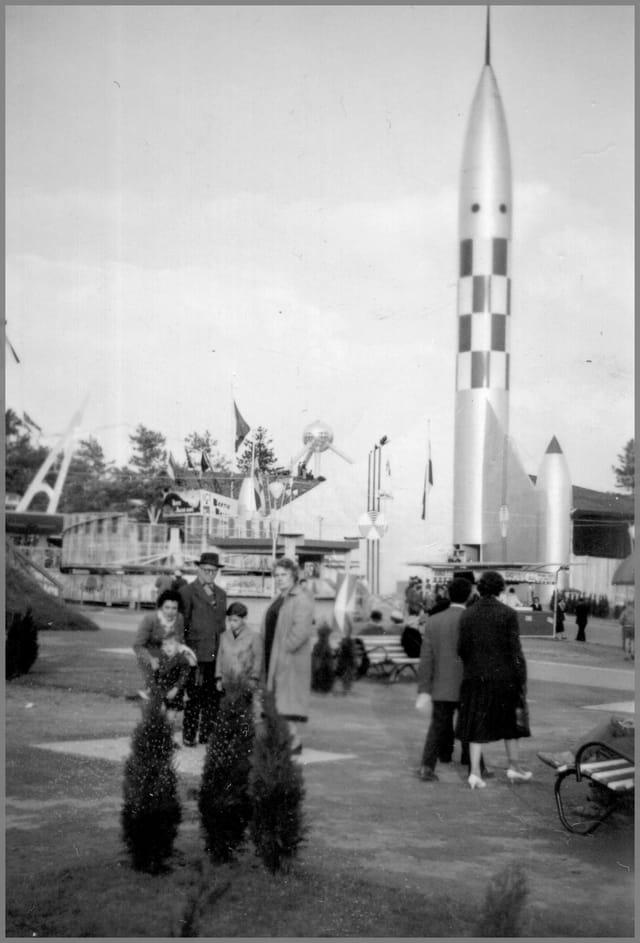 Objectif lune (Bruxelles 1958)