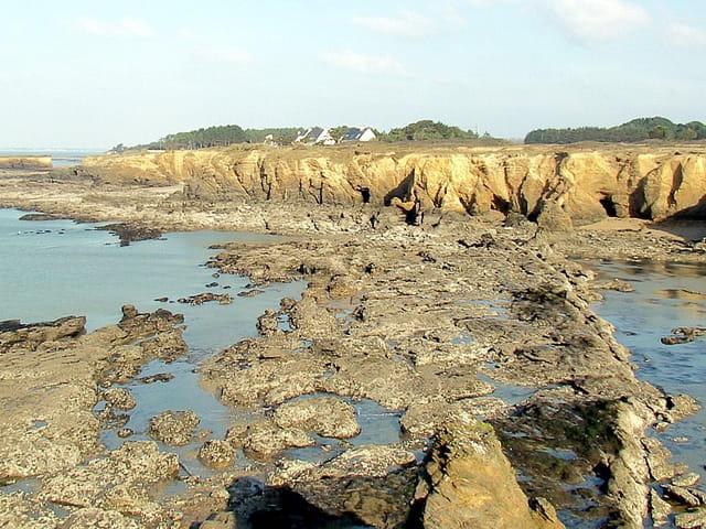 Ocre et rochers