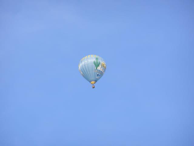 Oh la belle bleue dans ciel azur