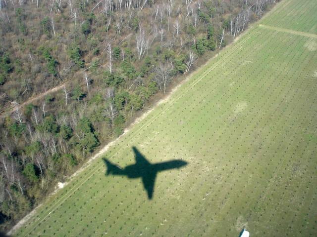Ombre d'avion