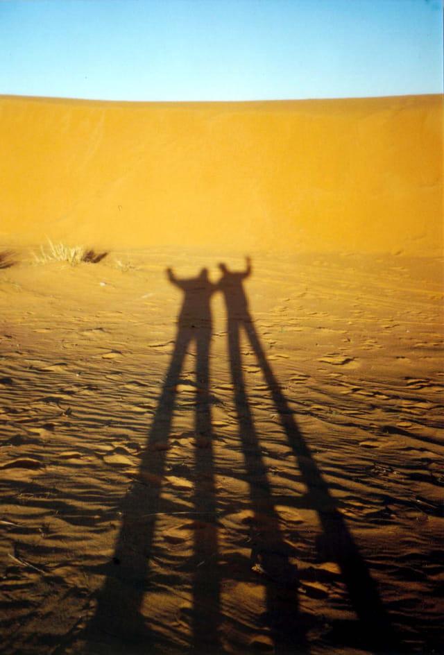 Ombre sur dune
