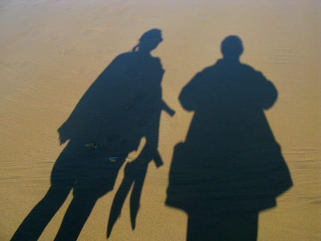 Ombres et sables