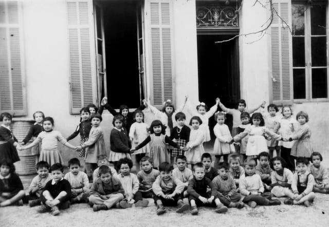 Sainte-Anne, rue Thieux. Marseille. 1956