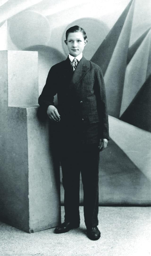Oncle Frédéric à 16 ans
