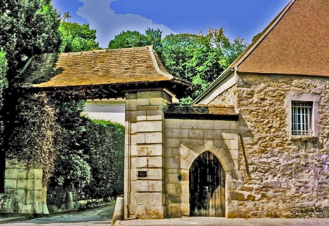Orsay faculté, portail sud