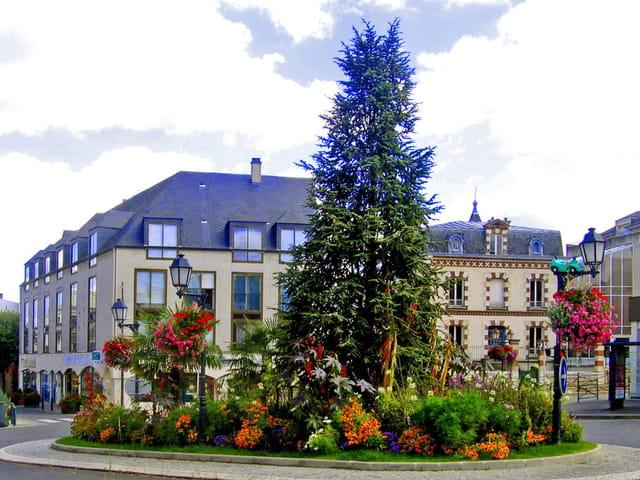 Orsay, place de la République