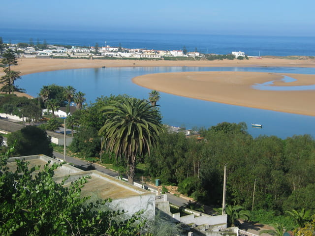 Oualidia plage