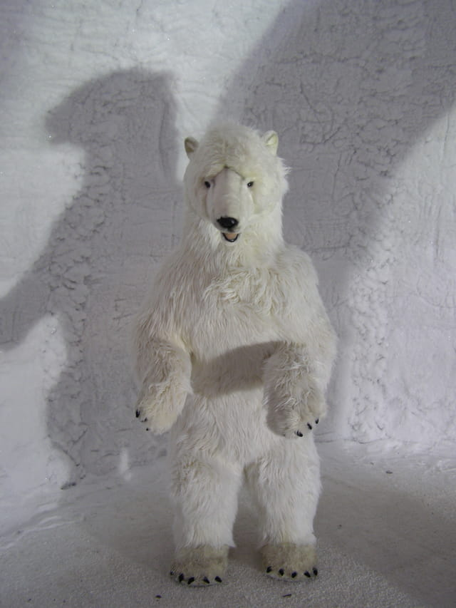 Ours blanc dans igloo Lillois