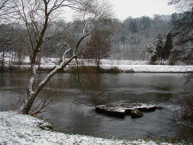 Ourthe en hiver