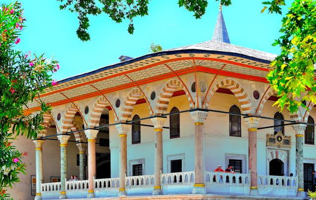 Palais de Topkapi, Pavillon des Audiences.