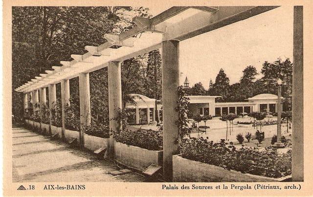 Palais des Sources et la Pergola