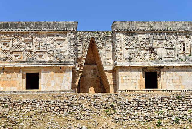 Palais du Gouverneur, voûte maya.