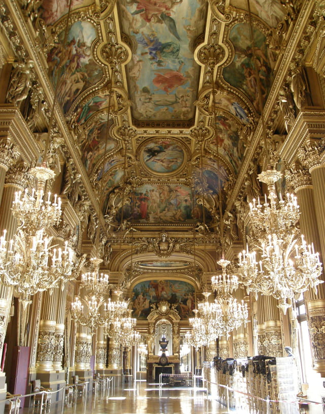 Grand Foyer Du Palais Garnier : Palais garnier grand foyer par gérard robert sur l
