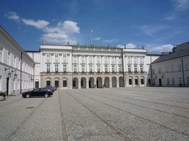Palais présidentiel à Varsovie