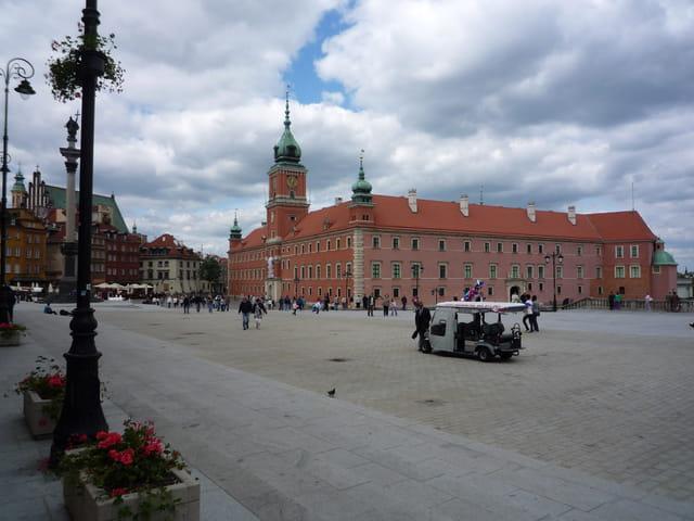 Palais royal à Varsovie
