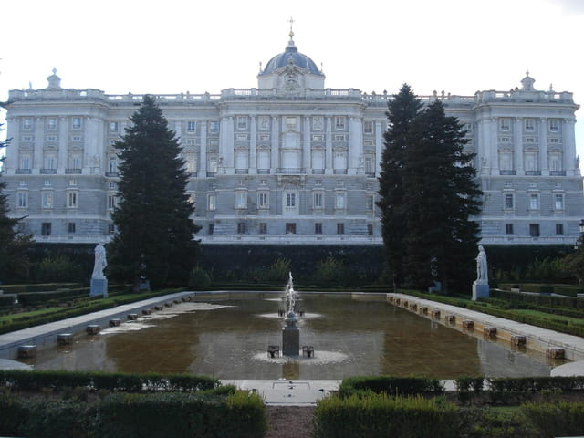Palais royal de Madrid(Palacio Real de Madrid)