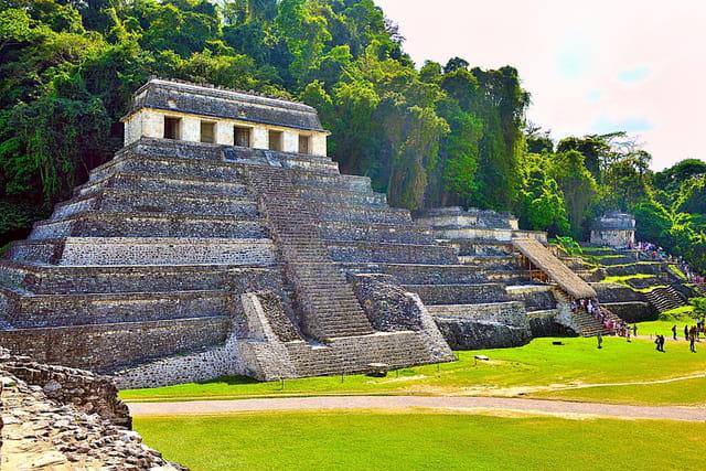 Palenque, Temple des Inscriptions.