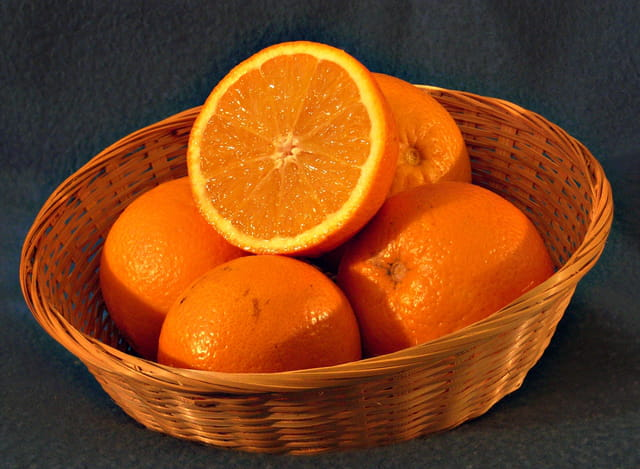 Panier d'oranges