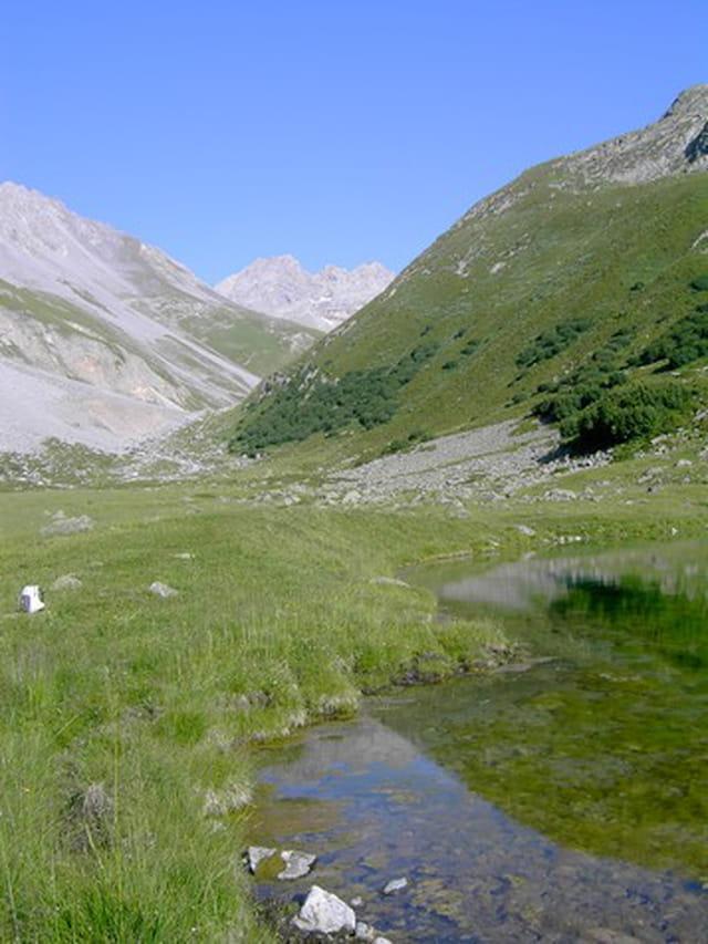 Panorama au lac des fées