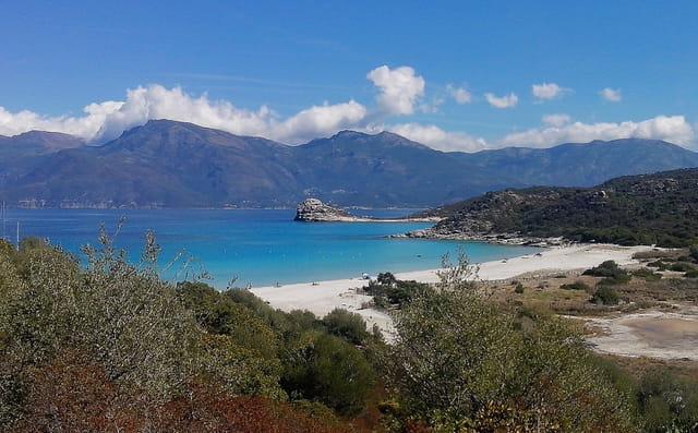 Panorama de l'ile de beauté